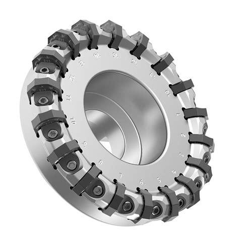 Kennametal Insert Chip Bubut Milling machining tool shows its metal kennametal s mill
