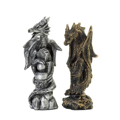 dragon chess set fire breathing dragon unique chess set 15190 mythical