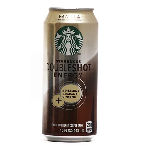 energy drink at starbucks starbucks dpubleshot energy vanilla 15 oz 12ct energy