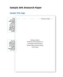Custom Apa Research Paper by Apa Term Papers