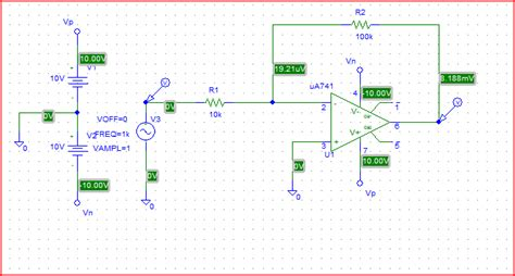op integrator circuit pspice basic op circuit physics forums the fusion of science and community