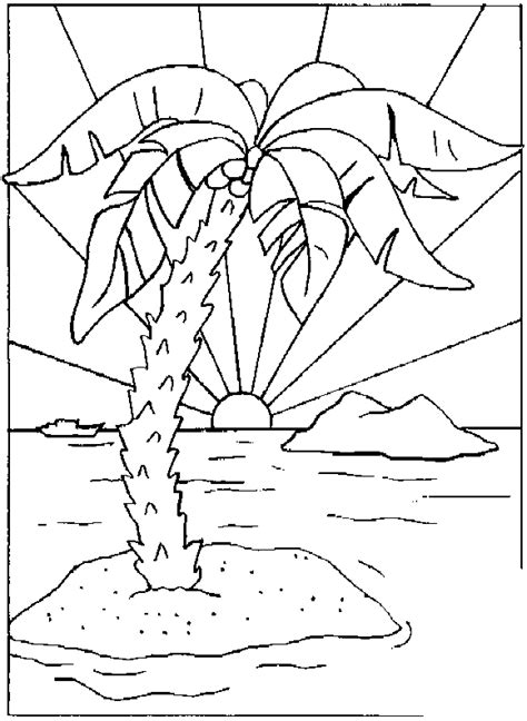 Island Coloring Page islands coloring pages