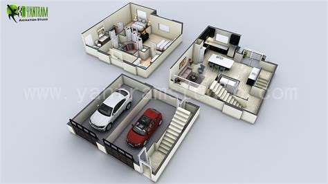 small house plans 3d 3d floor plan design interactive 3d floor plan yantram studio