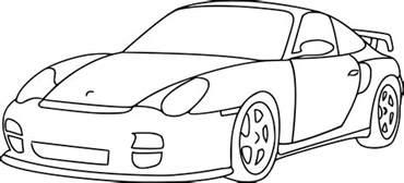 coloriage voiture de rallye dessin 224 imprimer sur