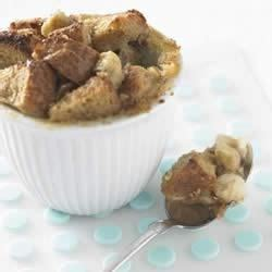 whole grain pudding whole grain bread pudding with caramelized bananas recipe