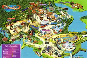 map of parks thorpe park 2006 park map