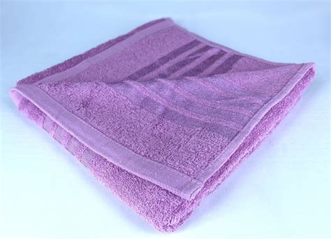 Cotton Tree Towel Animal Pink bath towel purple chinaberry tree