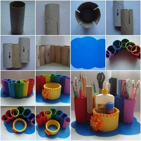 len papier selber machen stiftehalter selber machen einfache anleitungen und viele