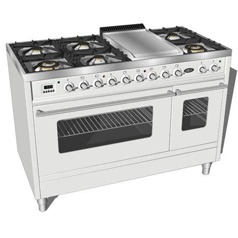 stoves kitchen appliances boretti stoves vfp 120 series 3d model formfonts 3d