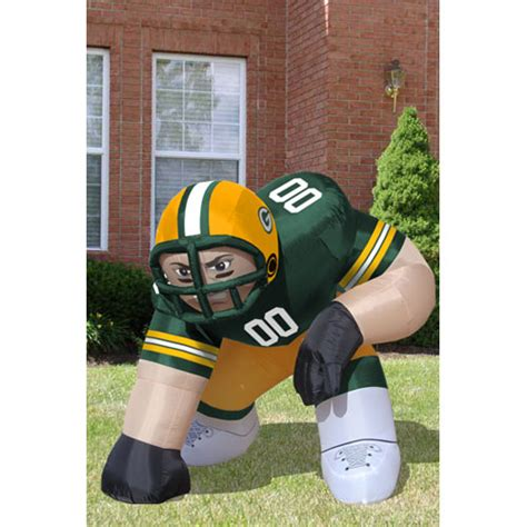 green bay packers inflatable bubba blow up lawn figure ebay