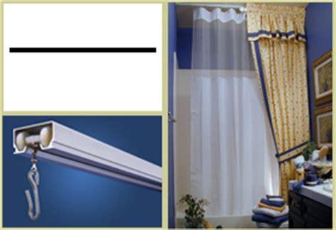 Trax Ceiling Shower Rod by Faq