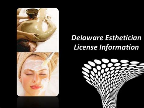 delaware esthetician license information