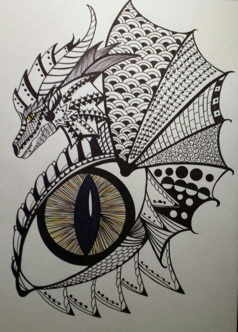 zentangle dragon bing images psychedelic drawings
