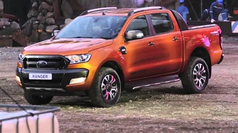 ford ranger launched  thailand youtube