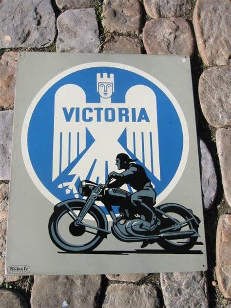 Alte Motorrad Blechschilder by Victoria Motorrad Blechschild Schilderjagd Alte