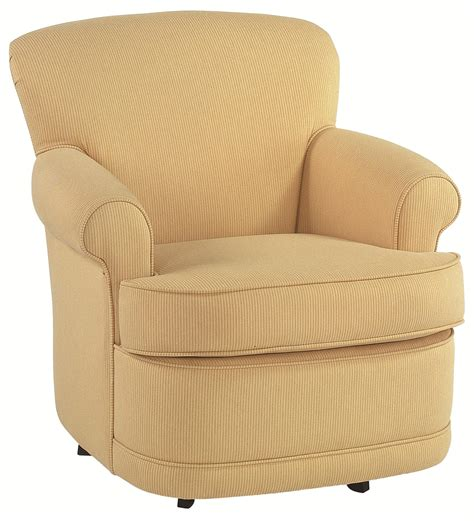 Braxton Culler Accent Chairs 634 005 Traditional Accent Swivel Chair