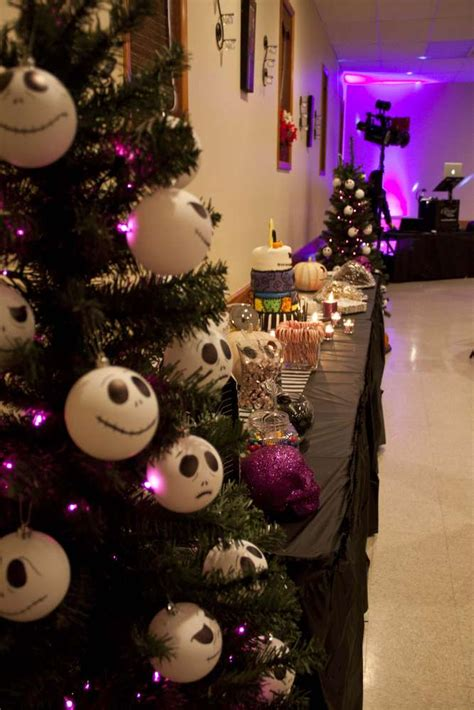nightmare before christmas birthday party ideas photo 1