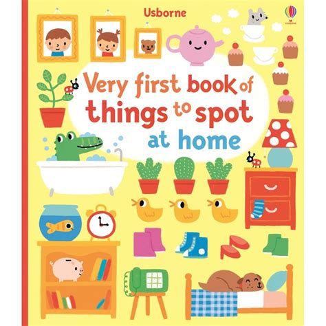 Usborne Book Of Things To Spot Out And About Board Book 1 usborne book of things to spot at home