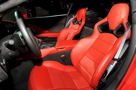 unveiled 2014 chevrolet corvette interior