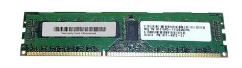 Ram Ddr3 Sun 371 4872 sun 4gb ddr3 pc10600 memory