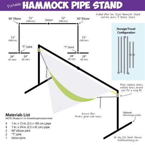 How To Make A Hammock Stand national hammock day pvc hammock stand