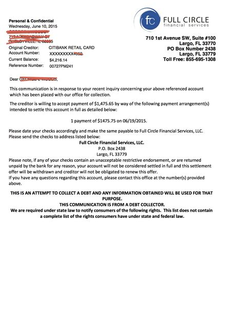 Credit Card Debt Letter Template Exle Of Credit Dispute Letter Letter Of Credit Termsexle Debt Validation Settlement