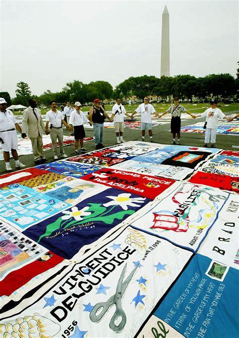The Aids Memorial Quilt by Aids Memorial Quilt Washington Dc
