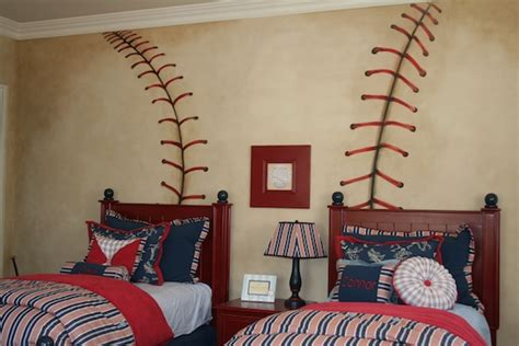 baseball theme boy s room