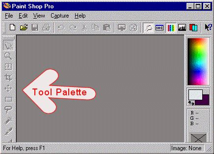 m a audits academi the tool palette paint shop pro