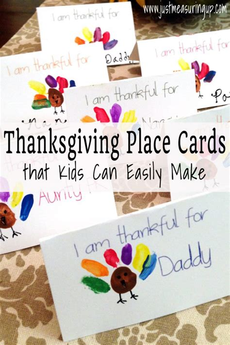 how to make a thanksgiving card thanksgiving place cards that can make free printable