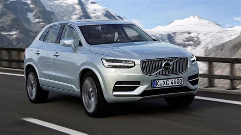 the volvo what if the volvo xc40 will look like this