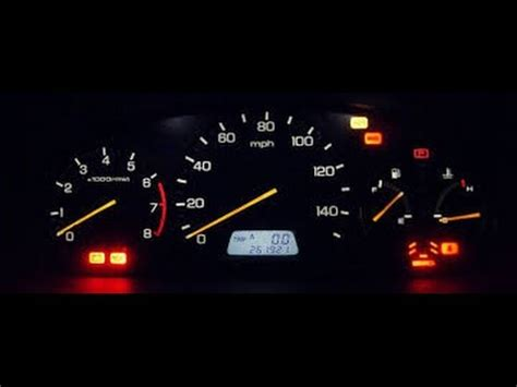 2003 honda odyssey dashboard instrument cluster light replacement how to replace honda gauge cluster lights youtube