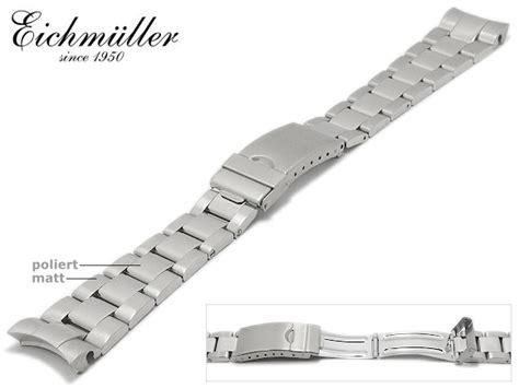 Rolex Edelstahl Armband Polieren by Uhrenarmband Eichm 252 Ller Edelstahl Passend F 252 R Rolex 20mm