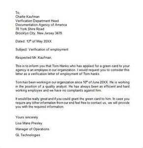 Employment Certify Letter For Visa employment letter writing a letter verifying employment verification