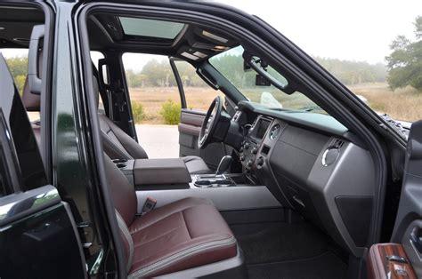 Ford Expedition 2015 Interior by 2015 Ford Expedition Platinum El Interior 6 187 Car Revs