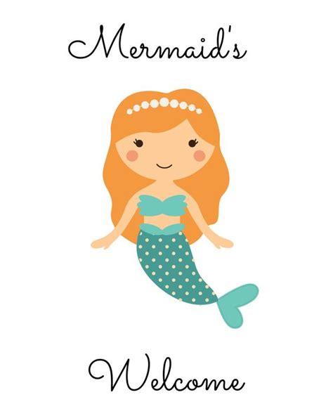 free printable mermaid invitations free mermaid printables mandy s printables