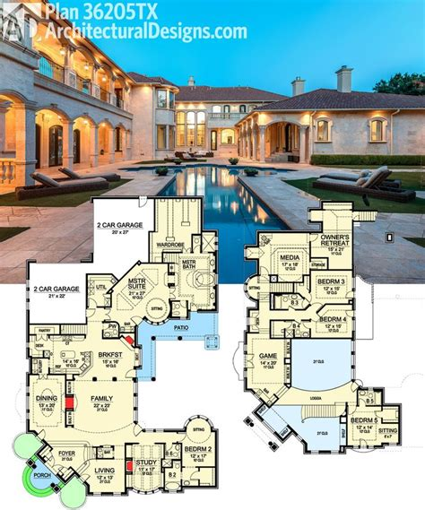 luxury estate floor plans luxury house plans luxury rambler house plan designs