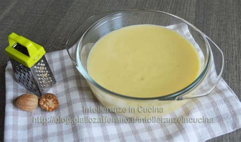 besciamella vegetale intolleranze in cucina