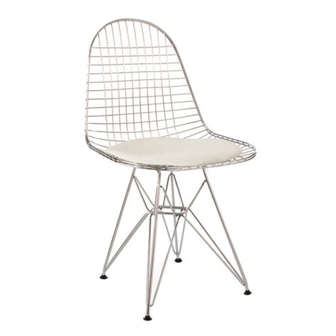 Wire Mesh Chair by Chair Metal Eames Style Dkr Wire Mesh Chair By Cielshop