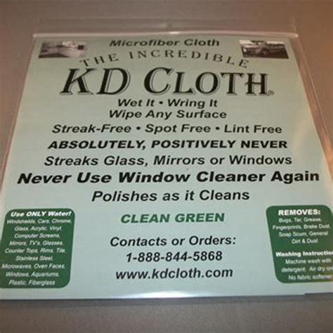 amazing Best Cloth For Cleaning Windows #2: kdcloth4.jpg