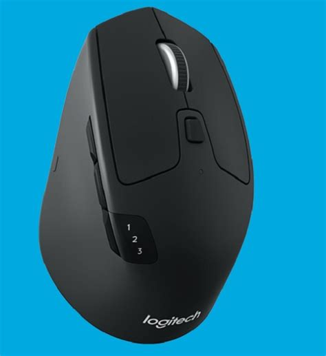 Logitech M720 Triathlon logitech m720 triathlon multi device mouse announced
