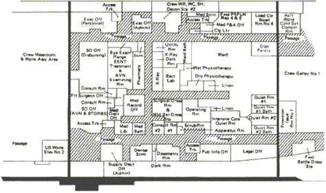 aircraft carrier floor plan aircraft carrier based medicine