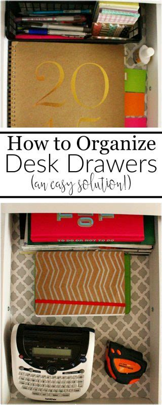 how to organize desk drawers easy way to organize desk drawers domestically creative