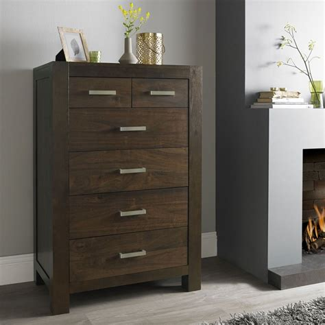 bentley designs lyon walnut chest of drawer 4 2 drawer