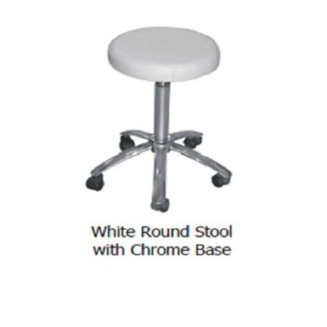 Hydraulic Stool Chair by White Salon Stool Chair Hydraulic Adjustable Barber Stool