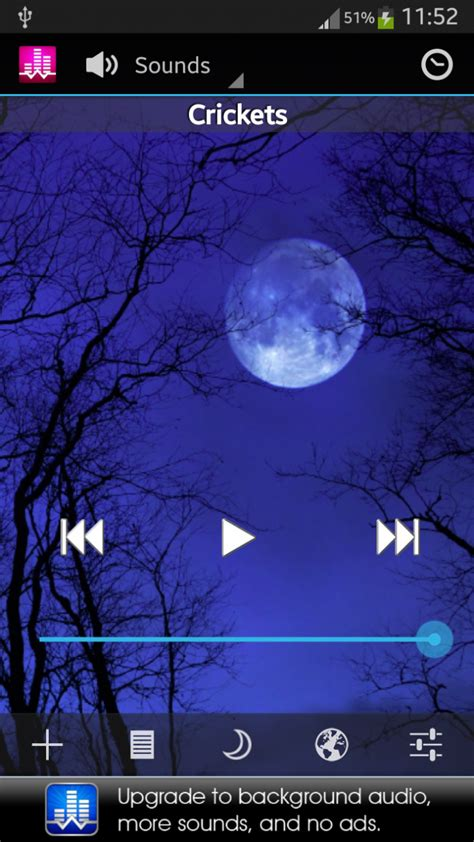 white noise app android galeria zdjęć zrzuty ekranu screenshoty white noise lite