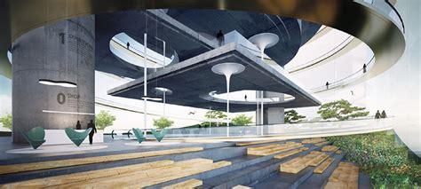 designboom interior design fly architecture s fully transparent tokyo music center