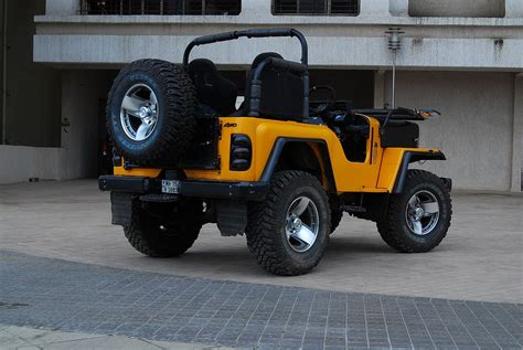 mahindra jeep thar modified mahindra thar a truly off road indian sagmart