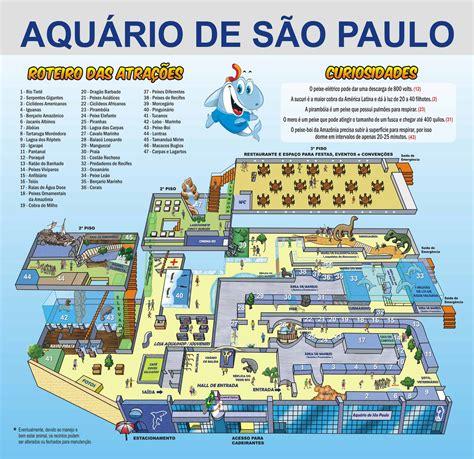 sao paulo state map zoos sao paulo aquarium