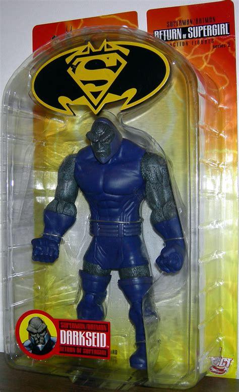 Mainan Superman Supergirl Set 2 Figure darkseid figure return supergirl superman batman series 2